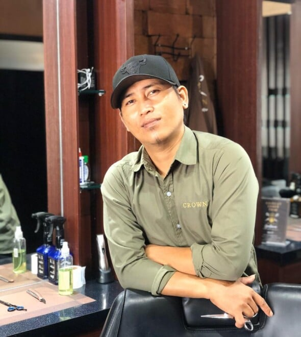 Danil Crown Gentleman Barbershop Bali